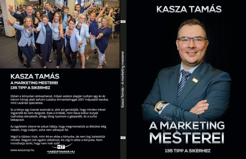 A Marketing Mesterei könyv